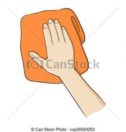 Towel clipart hand towel