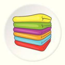 Towel clipart stacked