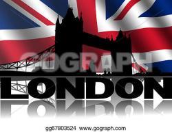 Tower Bridge clipart britain