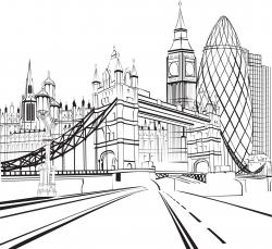 Tower Bridge clipart