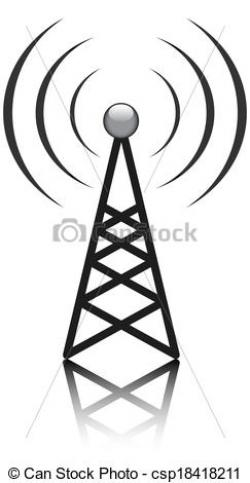 Aerial clipart antenna tower