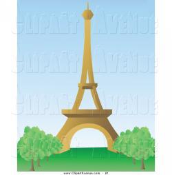 Eiffel Tower clipart paris france