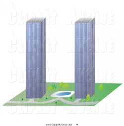 Skyscraper clipart tower building