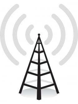 Aerial clipart cellphone tower