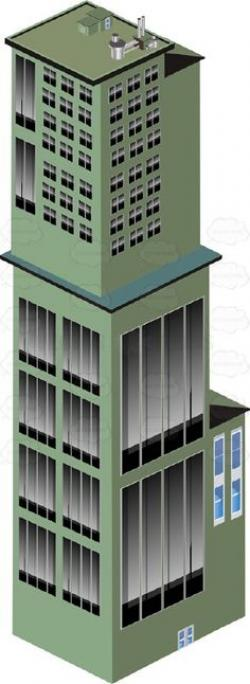 Urban clipart commercial property