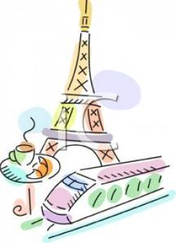 Towers clipart french food