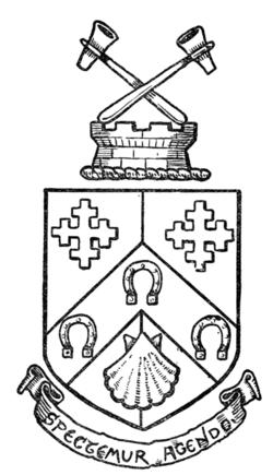 Drawn axe heraldic