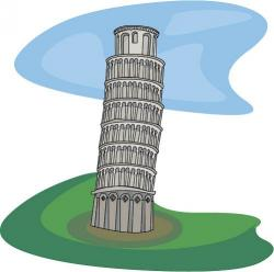 Towers clipart leaning tower