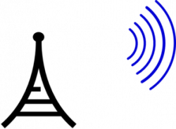 Towers clipart radio wave