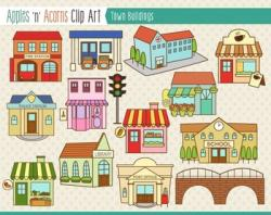 Place clipart preschool building