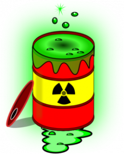 Nuclear clipart toxic waste