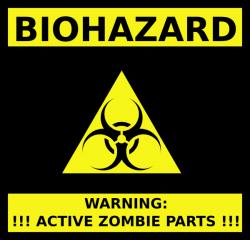 Biohazard clipart zombie