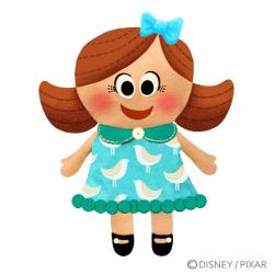 Dall clipart dolly