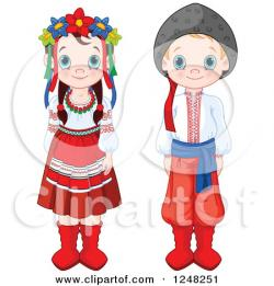 Traditional clipart different culture