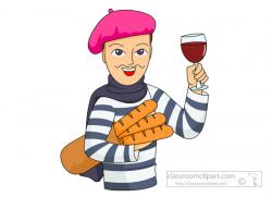 France clipart french person