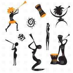 Dancing clipart marathi