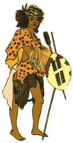 Warrior clipart zulu