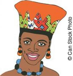 Traditional clipart zulu