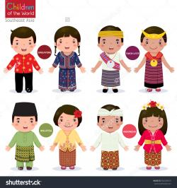 Malaysia clipart traditional