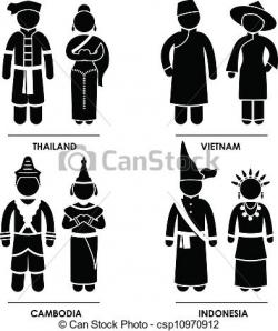 Vietnam clipart clothes