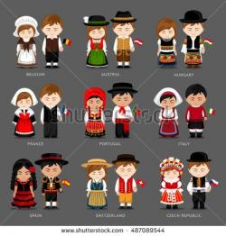 Traditional Costume clipart england