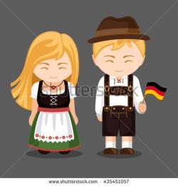 Traditional Costume clipart germany