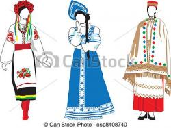 Traditional Costume clipart hungarian