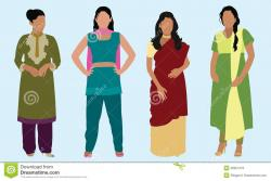 Hindu clipart east indian