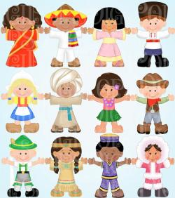 Traditional clipart ethnic