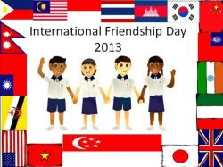 Philipines clipart international friendship day