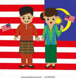 Traditional Costume clipart malay