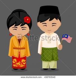Costume clipart malay