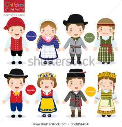 Sweden clipart national costume