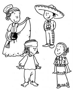 Traditional Costume clipart mexico culture