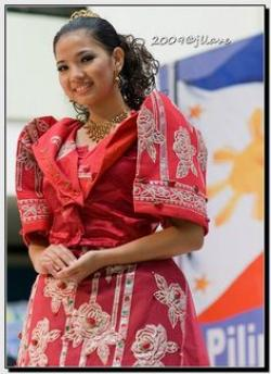 Traditional Costume clipart philippine nationalism