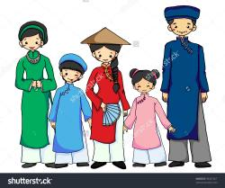 Traditional Costume clipart vietnam
