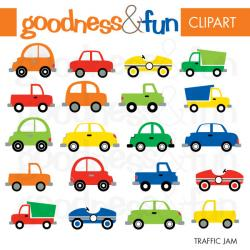 Vehicle clipart traffic car