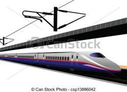 Tern clipart modern train
