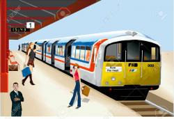 Railways clipart subway