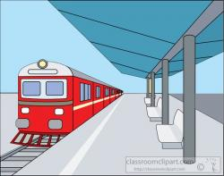 Train Station clipart