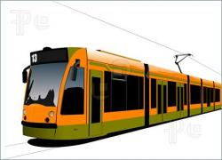 Tram clipart