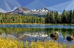 Lake clipart tranquil