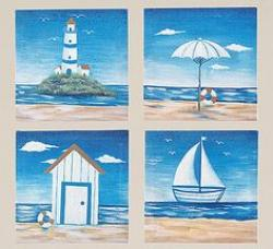 Tranquil clipart seaside