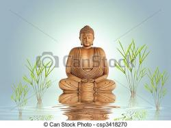 Tranquility clipart buddha
