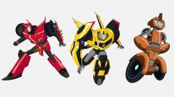 Transformers clipart 2015 series