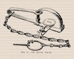 Trap clipart leg