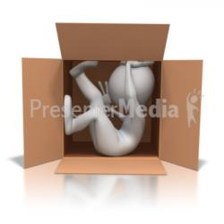 Trapped clipart claustrophobia