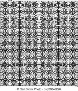 Trapped clipart maze
