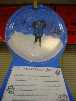 Trapped clipart snow globe