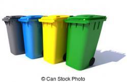 Trash clipart bin